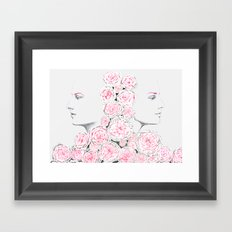 Twins 2 Framed Art Print