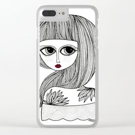 LOOKING BACK Clear iPhone Case
