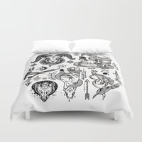 alchemy Duvet Covers featuring Lesser Alchemy by Polkip