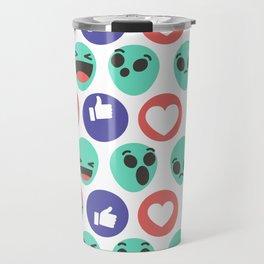 Alien Reactions Travel Mug