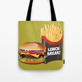 Lunch Break! Tote Bag