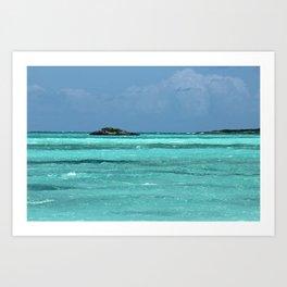 ocean shades Art Print