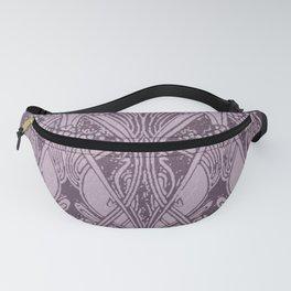 Lavender,art nouveau,vintage,beautiful,floral,belle époque,pattern,elegant, chic,modern,trendy Fanny Pack
