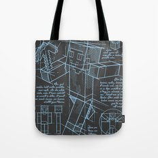 Plan Mine Tote Bag