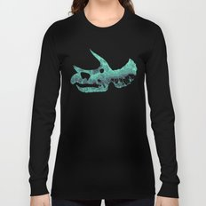 Triceratops Skull Long Sleeve T-shirt