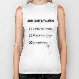 USA Political Affiliation 2016 Biker Tank