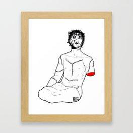 Goretober #30 - My Dearest Friend Framed Art Print
