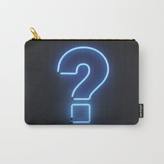 Question Mark (Neon) Carry-All Pouch