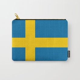 Flag of Sweden - Authentic (High Quality Image) Carry-All Pouch