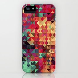 Indian Summer Colors Blanket iPhone Case