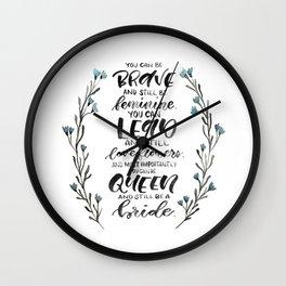 Queen & Bride Wall Clock