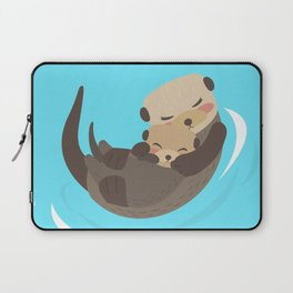YOU'RE MY OTTER HALF Laptop Sleeve