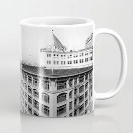 Panoramic view of Los Angeles 1917 Coffee Mug