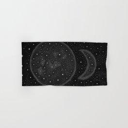 Starry Boho Moons Hand & Bath Towel