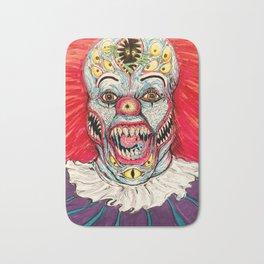 Scary Clown Bath Mat