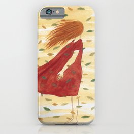 Leaf Away iPhone Case