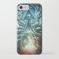 men iPhone & iPod Cases featuring War Of The Worlds I. by Dr. Lukas Brezak