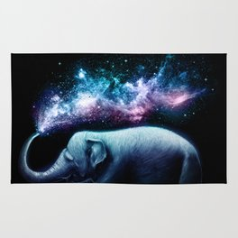 Elephant Splash Rug