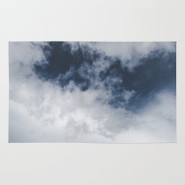 Landsape Waterton Meadow and Rolling Hills   Nature   Skyscape Clouds Rug