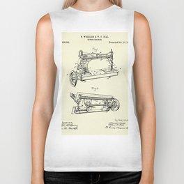 Sewing Machine-1885 Biker Tank
