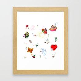 Favorites Framed Art Print