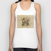 fili Tank Tops featuring Fili and Kili - The Hobbit  by BlacksSideshow