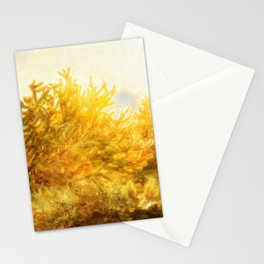 Glowing Mohave Desert, Arizona Stationery Cards