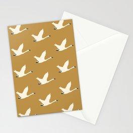 Tundra Swan (Mustard) Stationery Cards