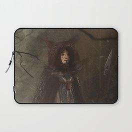 Ursa Major | Warrior | Woman with bearskin coat and spear Laptop Sleeve