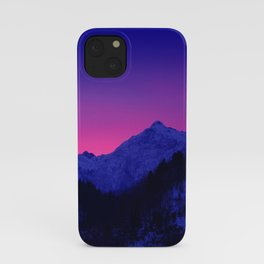 Dawn in Mountains iPhone Case