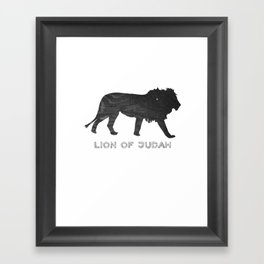 Lion (The Living Things Series) *special edition* Framed Art Print