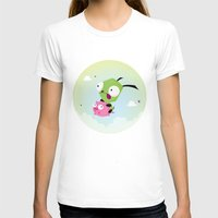 invader zim T-shirts featuring Invasor Zim by Maria Jose Da Luz