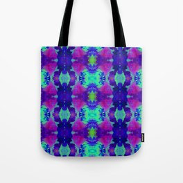 Indigo Butterfly Tote Bag