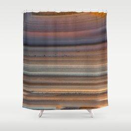 Back Lit Agate Shower Curtain