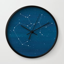 Sagittarius zodiac constellation Wall Clock