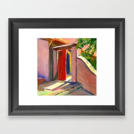 David's Doorway Framed Art Print