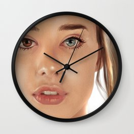 Sarah Mc Daniel - Portrait Wall Clock
