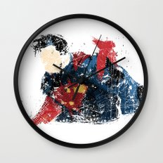 $uperman Wall Clock
