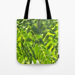 Sunny Leaves Tote Bag