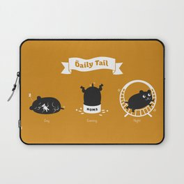 The Daily Tail Hamster Laptop Sleeve
