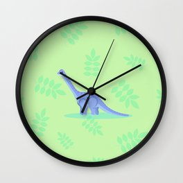 Brontosaurus, There When You Can't Reach the Shelf Above the Fridge Wall Clock