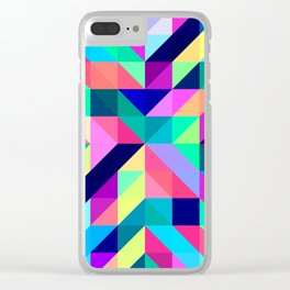 Untitled Pattern 3 Clear iPhone Case