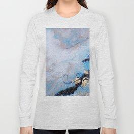 Blue Marble Long Sleeve T-shirt