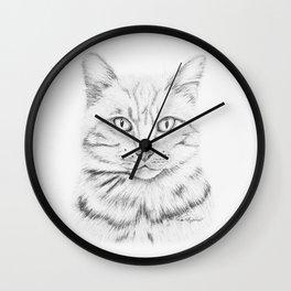 Tabby Tom Wall Clock