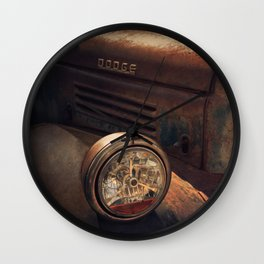 Vintage Car No.6 Wall Clock
