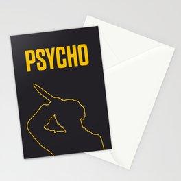 Psycho Movie - Poster (2) Stationery Cards