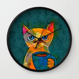 Mug Life Wall Clock