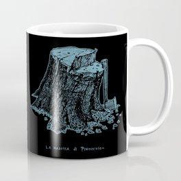 Birth of Pinocchio (black version) Coffee Mug