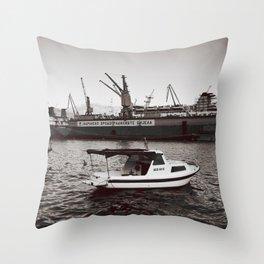 Bijela Throw Pillow