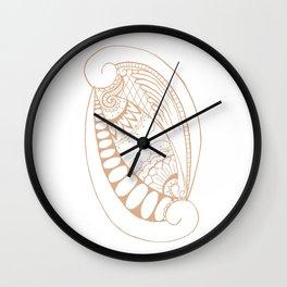 Fancy O Wall Clock